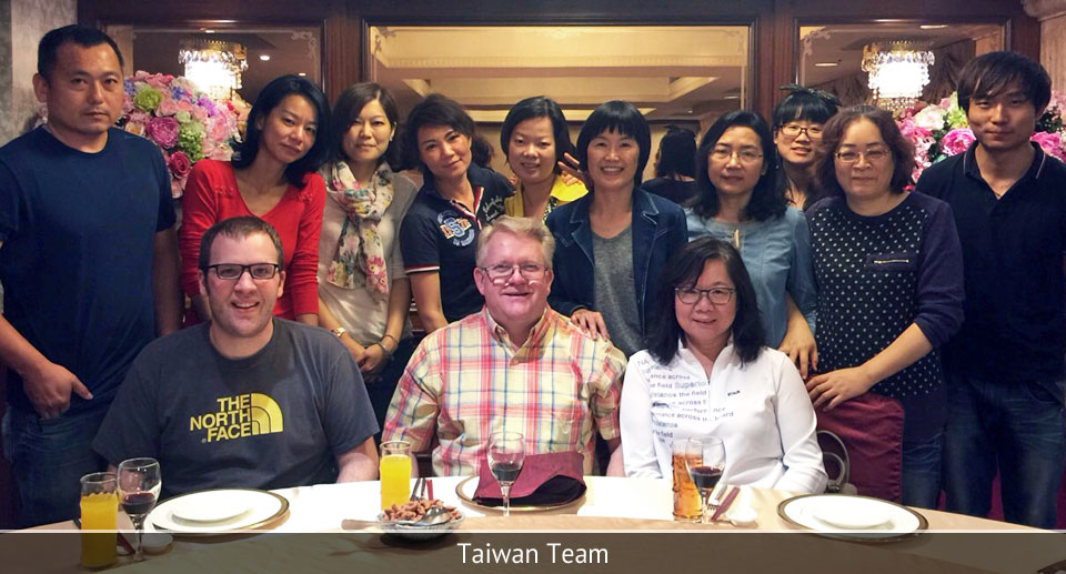 Tawain Team: Outsourcing and Manufacturing Overseas and in China